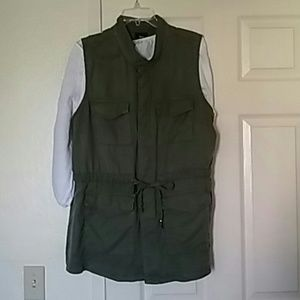 Plus Size Safari Vest